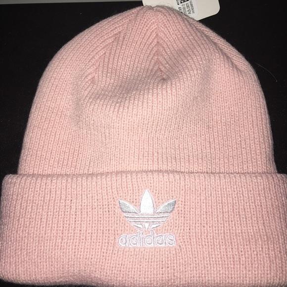 6f8b9611d1c NWT Adidas pink beanie